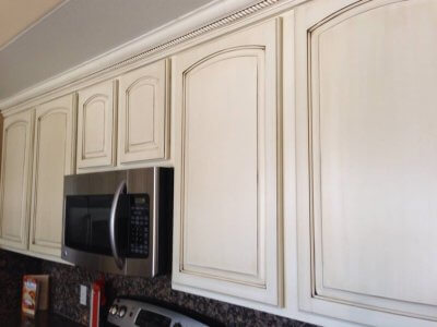 Kitchen Cabinet Painting and Refacing