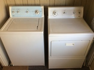 Kenmore Washer and Dryer excellent condition