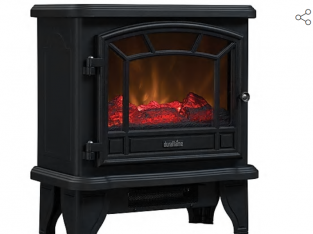 Duraflame, fireplace electric heater.