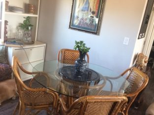 Rattan Furniture Sets (Dining Room and Living Room) $350