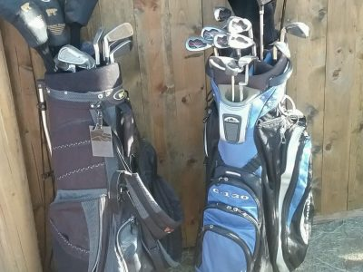 2 Sets of Golf Clubs in good condition