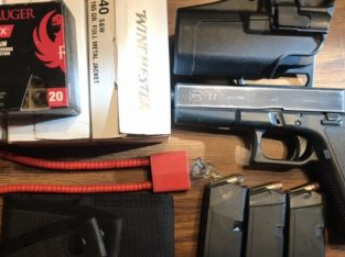 Glock 22 package deal