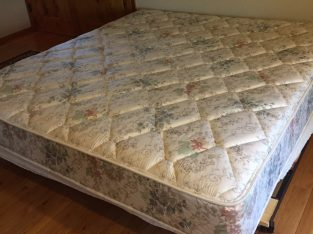 FREE – King size mattress and bed frame