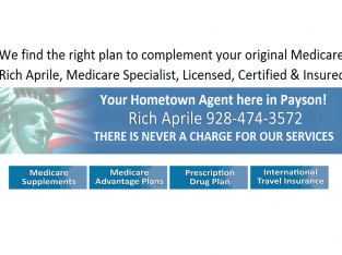 Local Payson Medicare Advisor-No Charge to You!