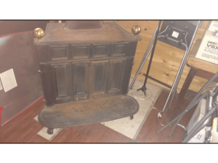 Atlanta Stove Works cast iron stove