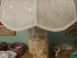 Fancy Lamp and Mirror (2) set